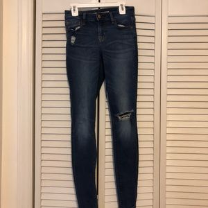 Old Navy mid rise size 0